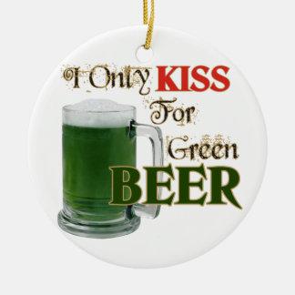 Los irlandeses besan 4 la cerveza - St Patrick Ornatos