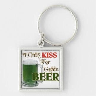 Los irlandeses besan 4 la cerveza - St Patrick Llavero Personalizado