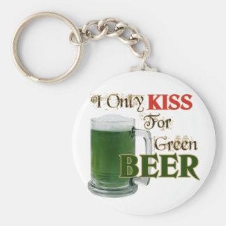 Los irlandeses besan 4 la cerveza - St Patrick Llaveros Personalizados