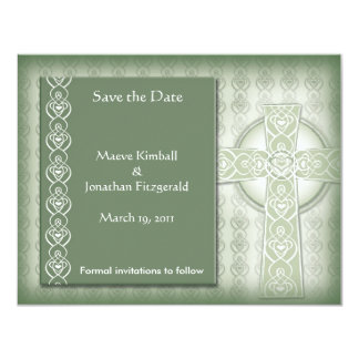 Los irlandeses elegantes de la cruz céltica del anuncio personalizado