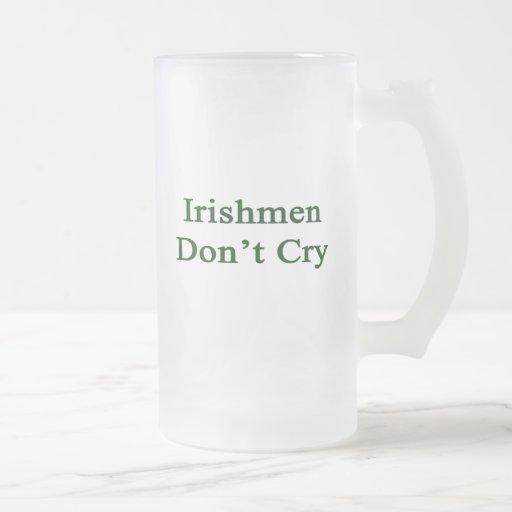 Los irlandeses no lloran taza de café