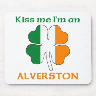 Los irlandeses personalizados me besan que soy Alv Alfombrillas De Ratón