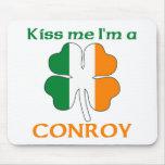 Los irlandeses personalizados me besan que soy Con Alfombrilla De Raton