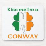 Los irlandeses personalizados me besan que soy Con Tapete De Raton