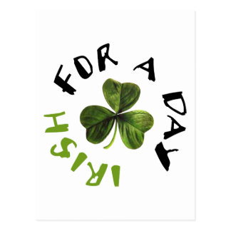 ¡Los irlandeses por un día refrescan productos! Tarjeta Postal