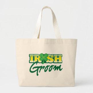 Los irlandeses preparan de irlandés impresionante bolsa tela grande