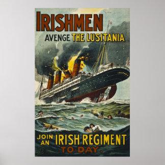 Los irlandeses se vengan el reclutamiento del vint impresiones