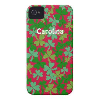 Los irlandeses verdes afortunados Samsung de los t iPhone 4 Cárcasa