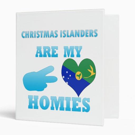 Los isleños del navidad son mi Homies