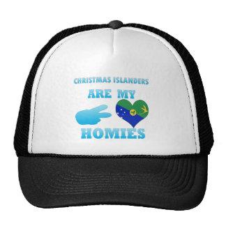 Los isleños del navidad son mi Homies Gorro