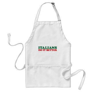 Los italianos mejora delantal