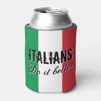 Los italianos mejora el neverita de bebidas con la enfriador de latas