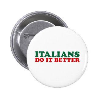 Los italianos mejora pin redondo 5 cm