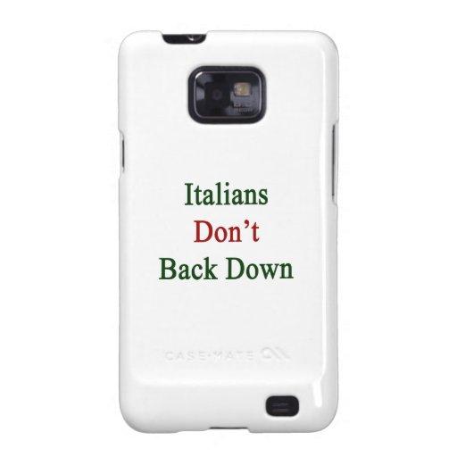 Los italianos no retroceden galaxy s2 carcasa