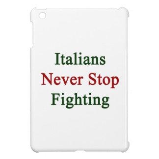 Los italianos nunca paran el luchar
