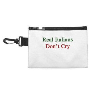 Los italianos reales no lloran