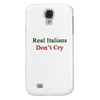 Los italianos reales no lloran funda para galaxy s4