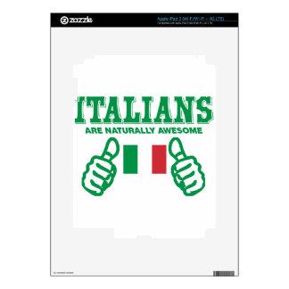 Los italianos son impresionantes iPad 3 skins