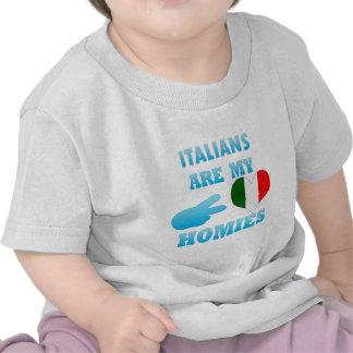 Los italianos son mi Homies Camiseta