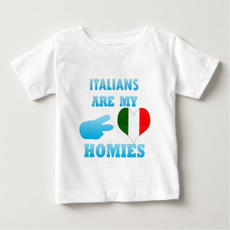 Los italianos son mi Homies Tee Shirt