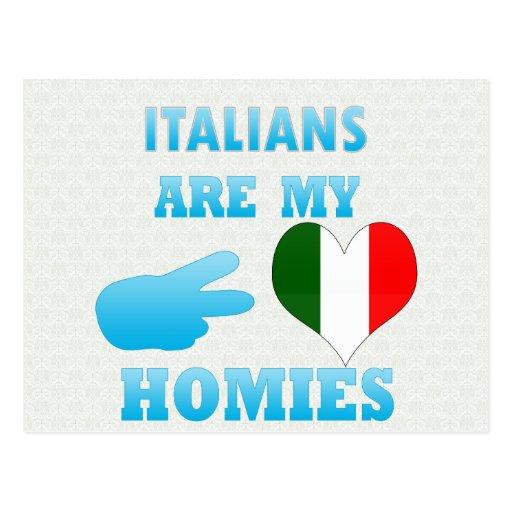 Los italianos son mi Homies Postal