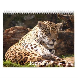 Los jaguares hacen calendarios, los jaguares