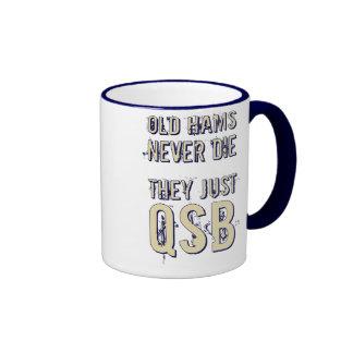Los jamones viejos nunca mueren taza