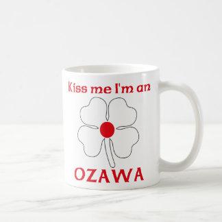 Los japoneses personalizados me besan que soy taza básica blanca