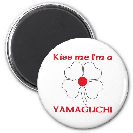 Los japoneses personalizados me besan que soy Yama Iman De Frigorífico