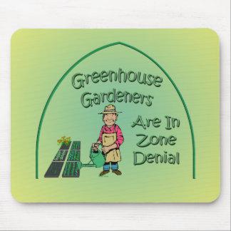 Los jardineros del invernadero están en la negació alfombrilla de ratón