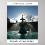 Los jardines botánicos impresiones