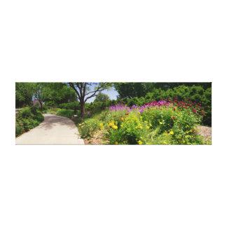 Los jardines de Botanica sombrearon la trayectoria Impresión En Lona