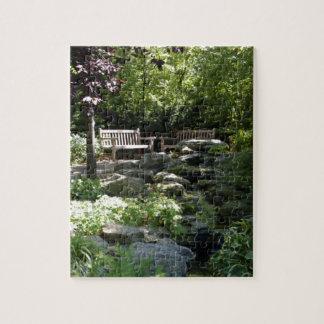 Los jardines de Botanica sombrearon la trayectoria Rompecabezas