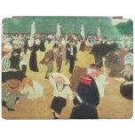 Los jardines de Luxemburgo, 1895 Cover De iPad