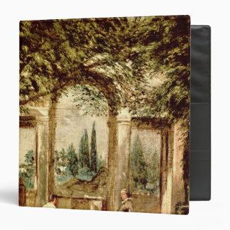 """Los jardines del chalet Medici en Roma Carpeta 1 1/2"""""""