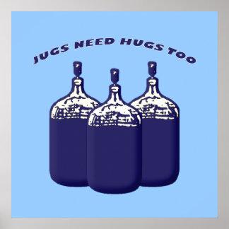Los jarros necesitan abrazos también impresiones