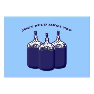 Los jarros necesitan abrazos también plantilla de tarjeta de negocio