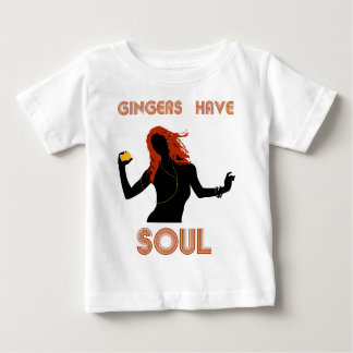 Los jengibres femeninos tienen alma tee shirt