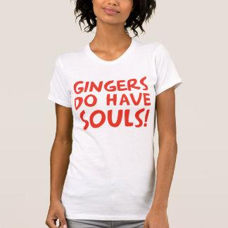 Los jengibres tienen almas camiseta