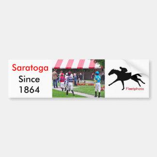 Los jinetes superiores de Saratoga que dirigen al Pegatina Para Auto