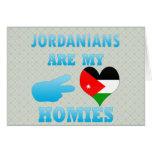 Los jordanos son mi Homies Felicitacion