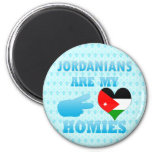 Los jordanos son mi Homies Imán De Frigorifico