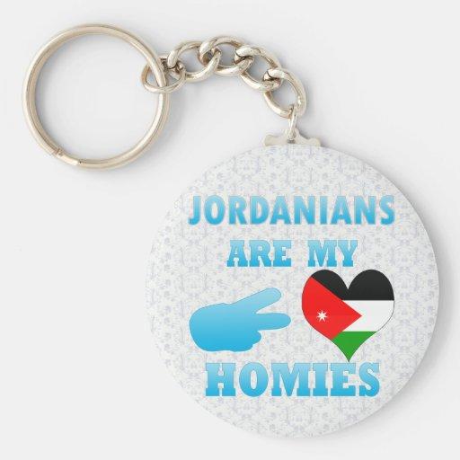 Los jordanos son mi Homies Llavero Personalizado