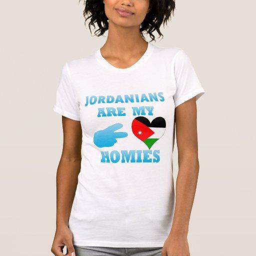 Los jordanos son mi Homies Tshirts