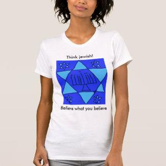 ¡los judíos protagonizan, creen lo que usted cree, camisas
