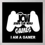 """Los juegos de JCW """"soy poster de 24x24 de un video"""