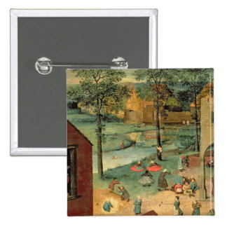 Los juegos de los niños, 1560 pin cuadrada 5 cm