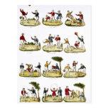 Los juegos de los niños, 1810 postales