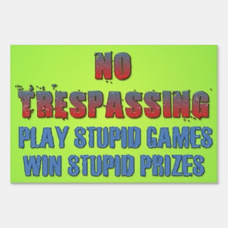 Los juegos estúpidos del juego, ganan premios carteles