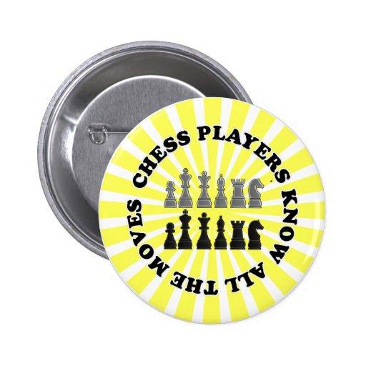 Los jugadores de ajedrez divertidos saben todos lo pin
